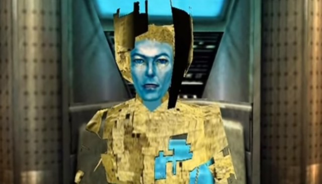 Image: David Bowie in video game