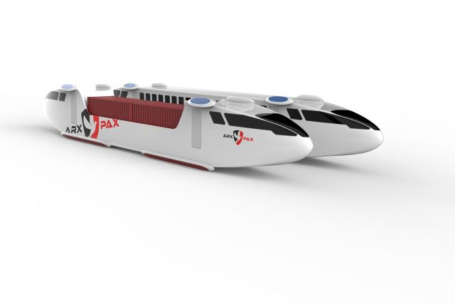 Image: Arx Pax Hyperloop pods