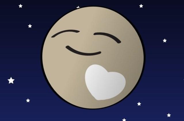Image: Pluto valentine