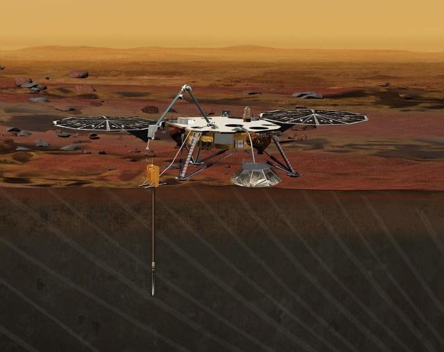 Image: Insight Mars lander