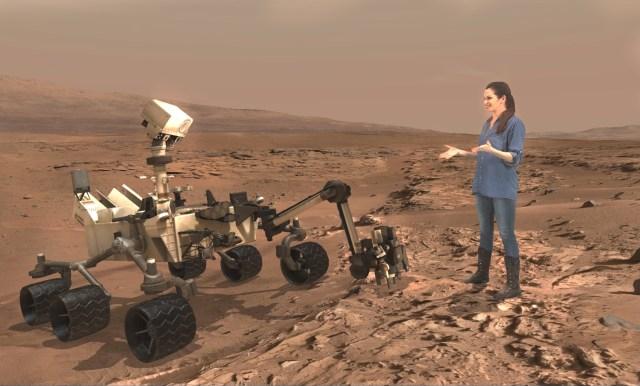 Image: Mars tour