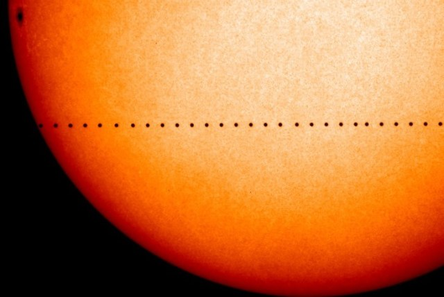 Image: Transit of Mercury