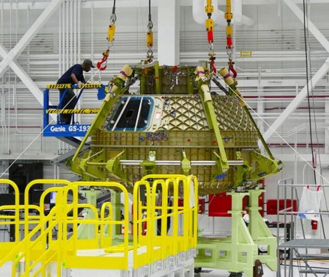 Image: Boeing Starliner hull