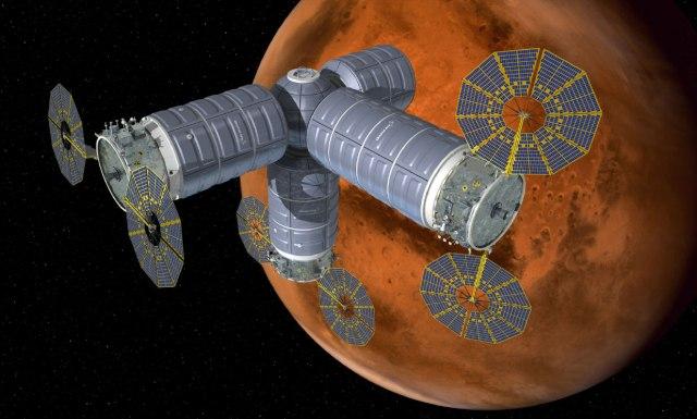 Image: Mars orbital habitat