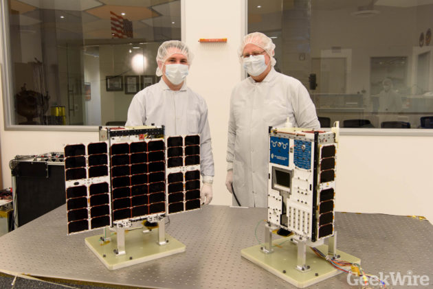 Image: Planetary Resources clean room