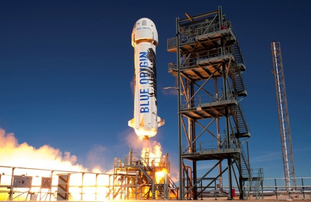 Image: Blue Origin launch