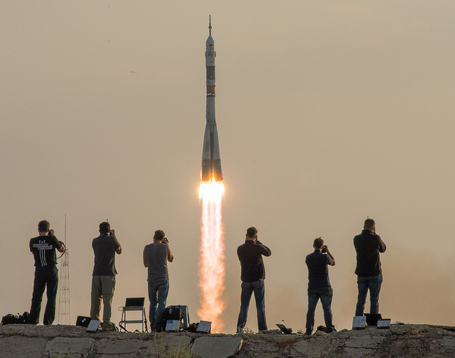 Image: Soyuz launch