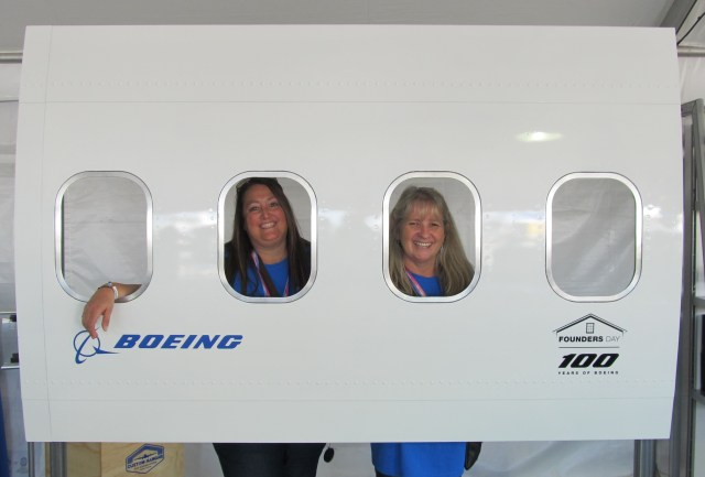 Image: Boeing employees