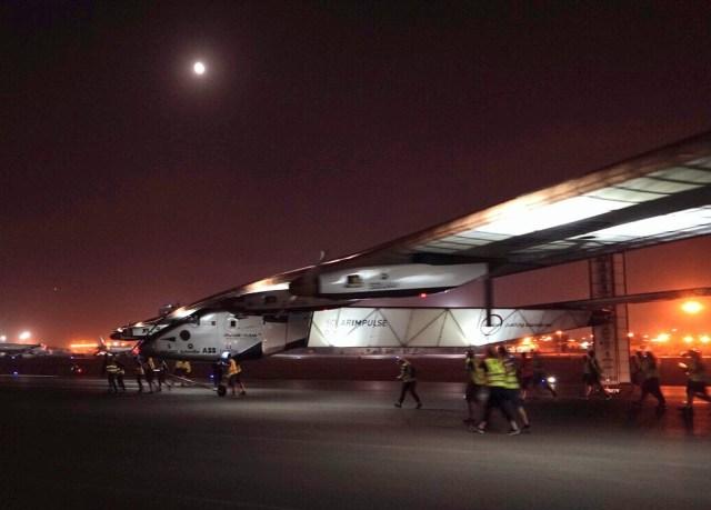 Image: Solar Impulse rollout