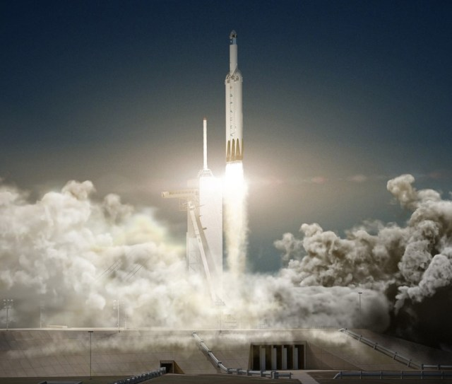Image: Falcon Heavy launch