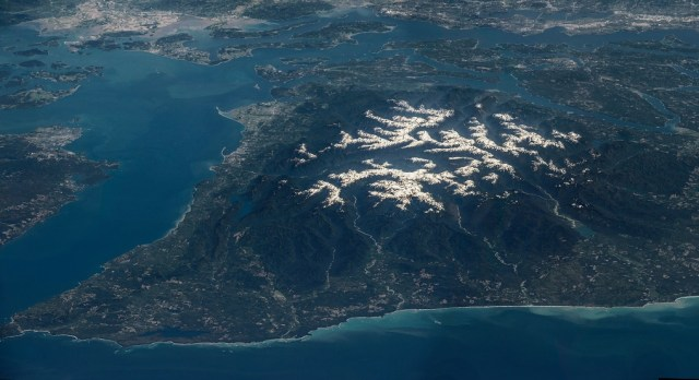 Image: Olympic Peninsula seen from space