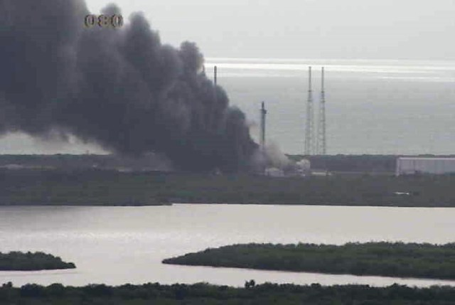Image: SpaceX blast
