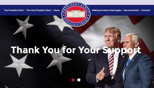 GreatAgain.gov website