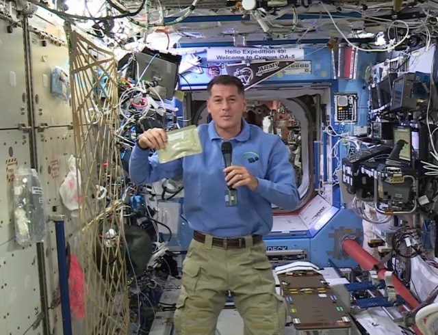 Kimbrough on space station
