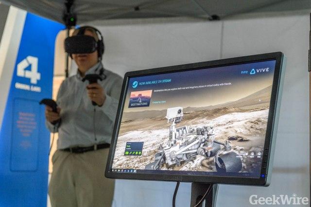 Virtual walk on Mars