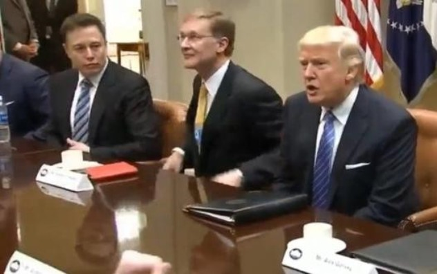 Musk, Weeks and Trump