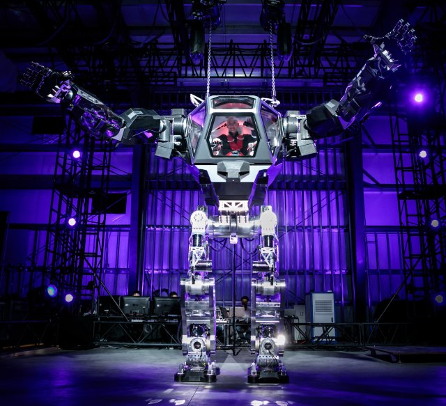 Jeff Bezos in robot
