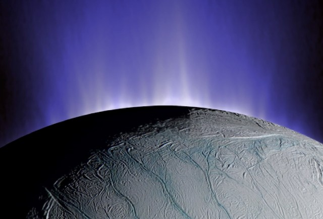 Enceladus' plumes
