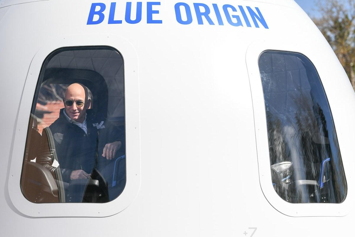Blue Origin's Jeff Bezos