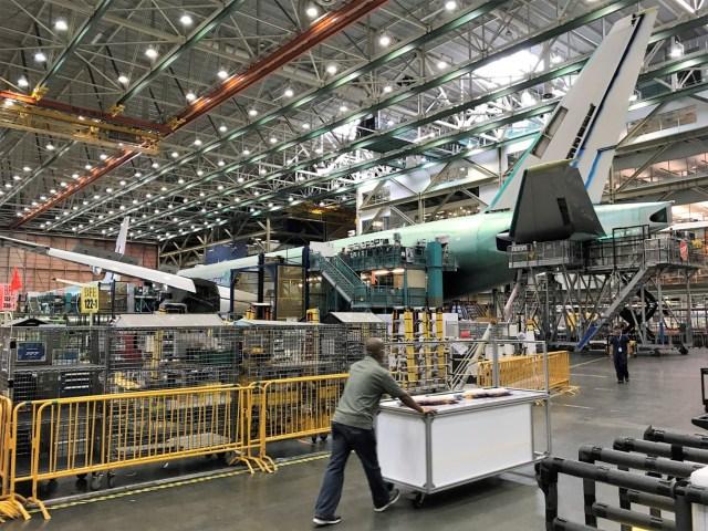 777 production line