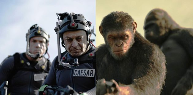 "Andy Serkis in ""War for the Planet of the Apes"""