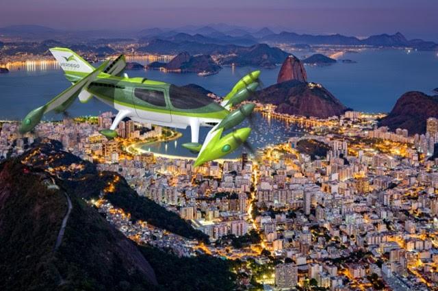 VerdeGo Aero in flight