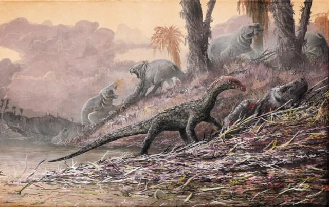 Triassic creatures