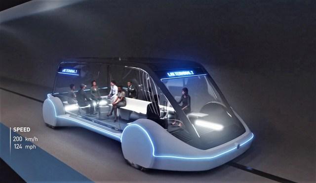 LAX-bound pod