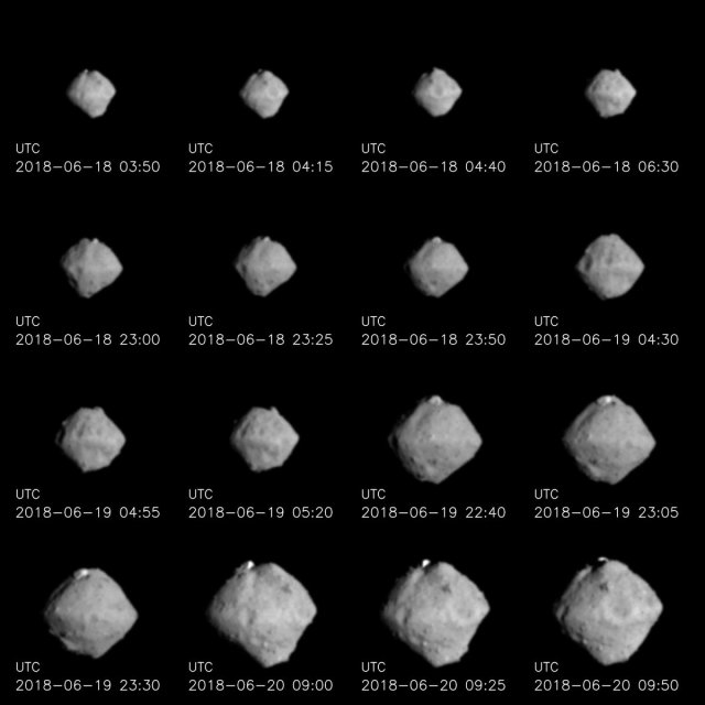 Hayabusa 2 views of Ryugu