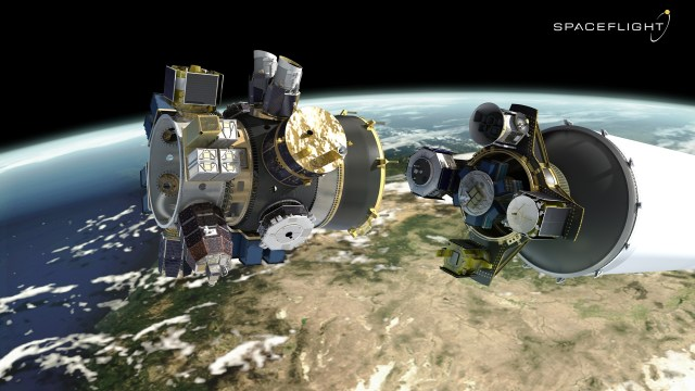 Satellite deployers