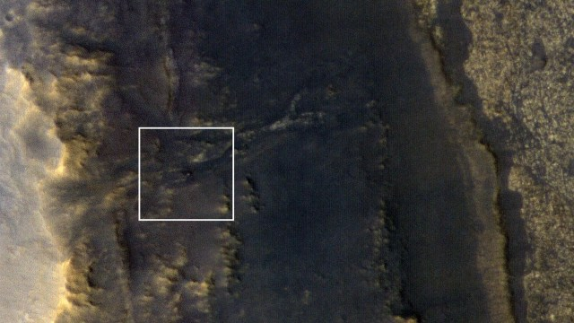 Opportunity on Mars