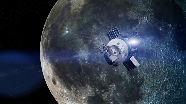 Moon Express spacecraft