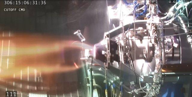 Preburner test firing