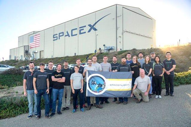 Spaceflight team
