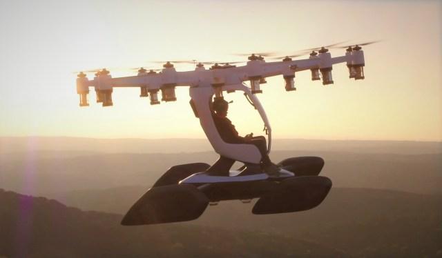 Lift Hexa aircraft
