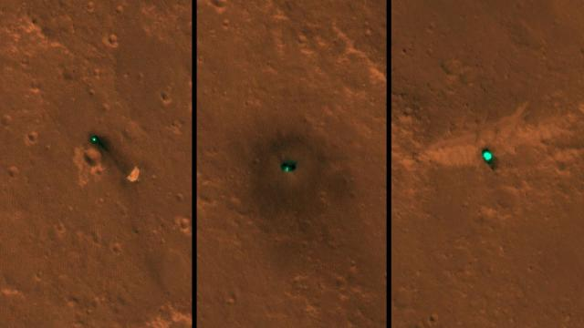 Mars InSight spottings