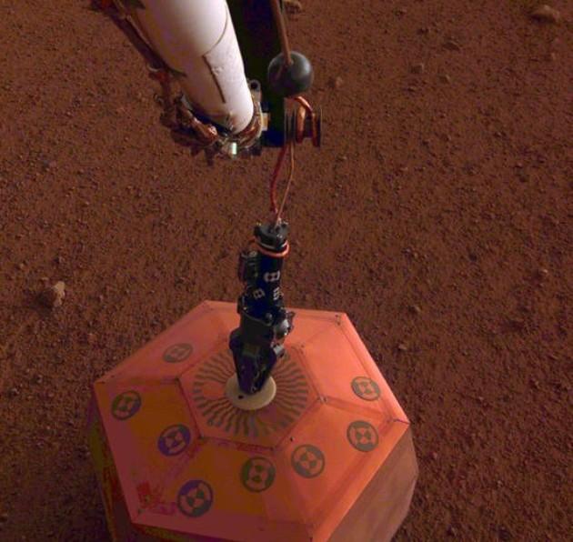 Seismometer on Mars
