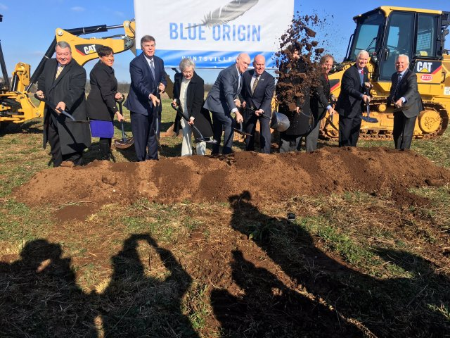 Blue Origin groundbreaking