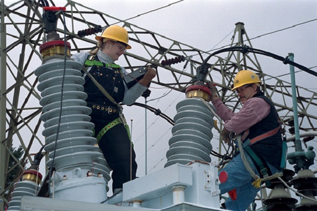 Power substation maintenance