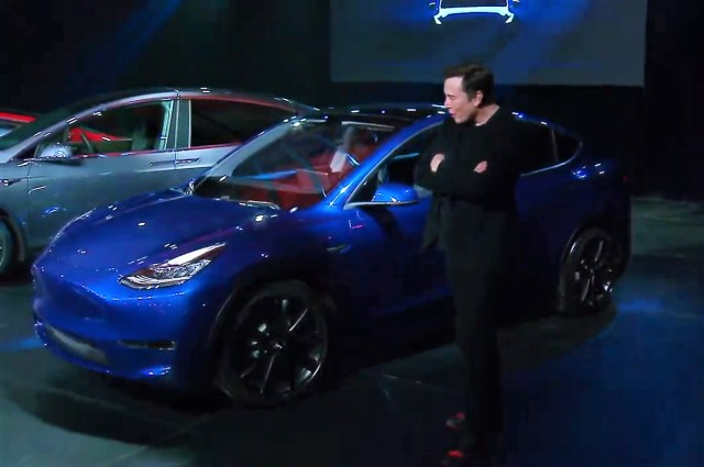 Elon Musk and Model Y