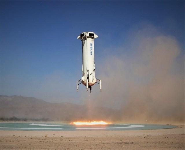 Blue Origin landing
