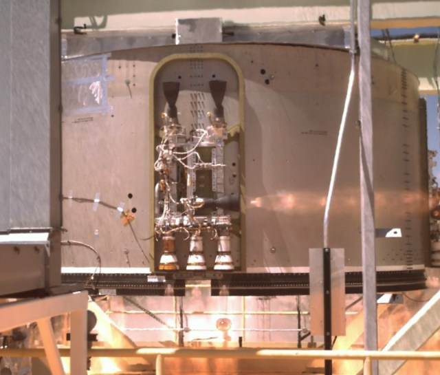 Starliner propulsion test