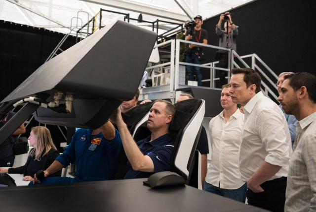 Jim Bridenstine at SpaceX