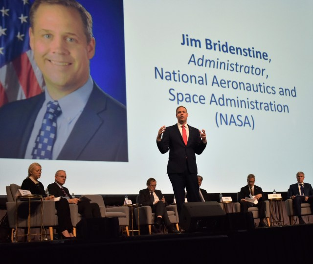 Jim Bridenstine at IAC