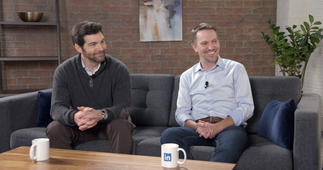Jeff Weiner and Ryan Roslansky