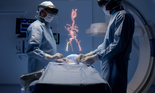 Augmented-reality surgery