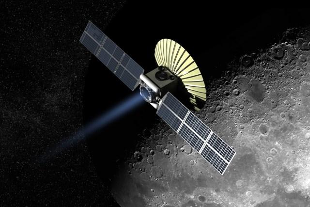 Xcraft at moon