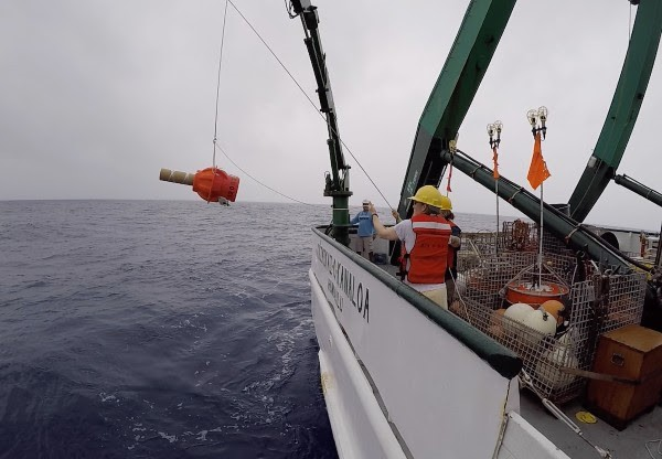 Deployment of Deep Argo float