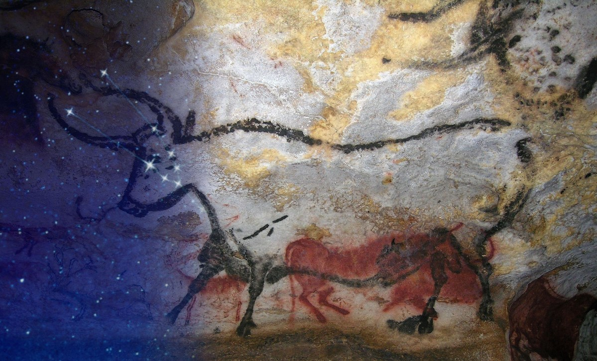 Lascaux Cave and constellation