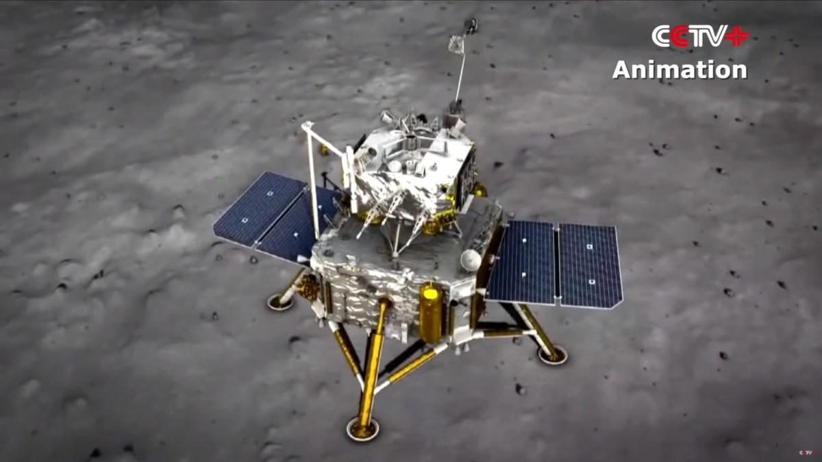 Chang'e-5 probe